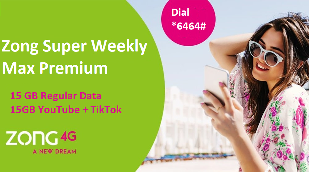 Zong Super Weekly Max: Offer Charges Revised