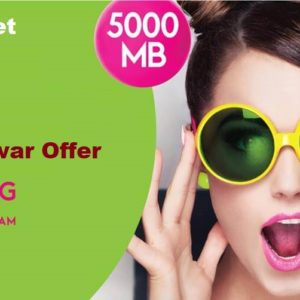 Zong Haftawar Offer With 5000 MB
